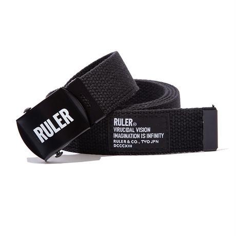 RULER / Icon Web Belt (3colors)
