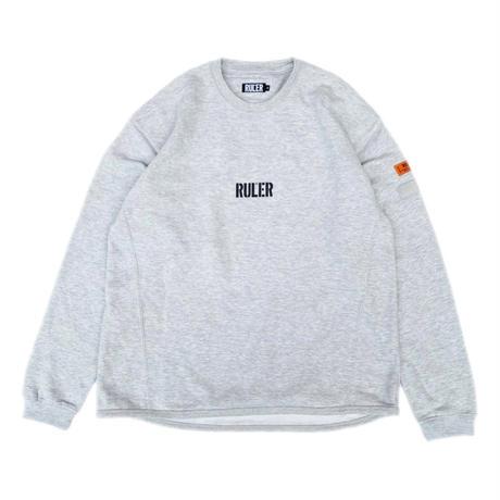 RULER / ID STENCIL RSL SWEATSHIRT (2colors)