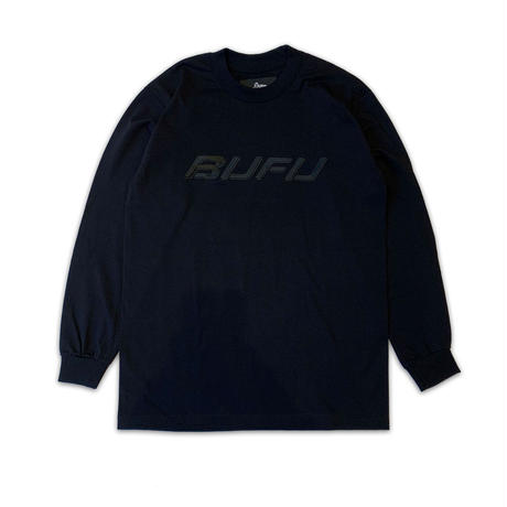 DUMMY YUMMY / BUFU BLACK LS T-SHIRTS