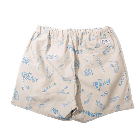 RULER / On To VIictory Ruff Chino Shorts (2colors)