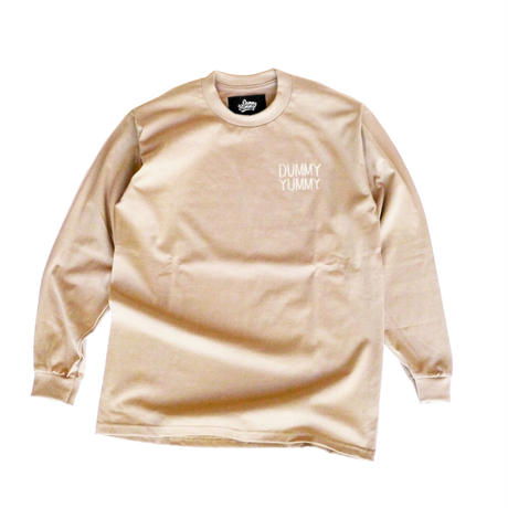 DUMMY YUMMY/ IVORY LONG SLEEVE T-SHIRT