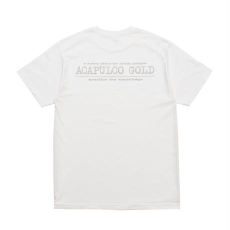 ACAPULCO GOLD / LEARNING TEE