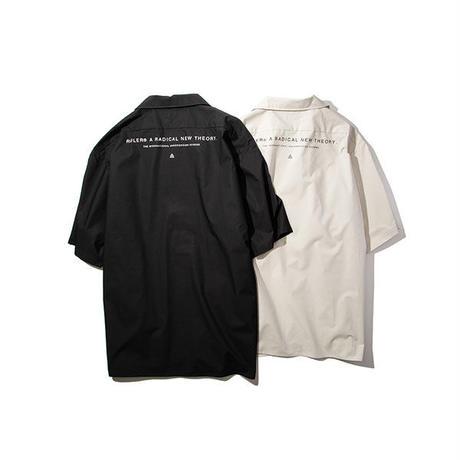 RULER / OPEN-COLLAR WORK SHIRTS (2colors)
