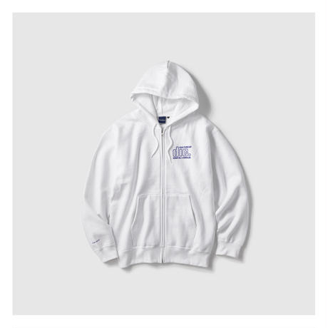 INTERBREED × DISKUNION/ CULTURE LOVERS ZIP HOODIE