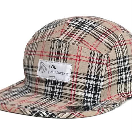 "Omega 5Panel Camp cap ""nova check"""