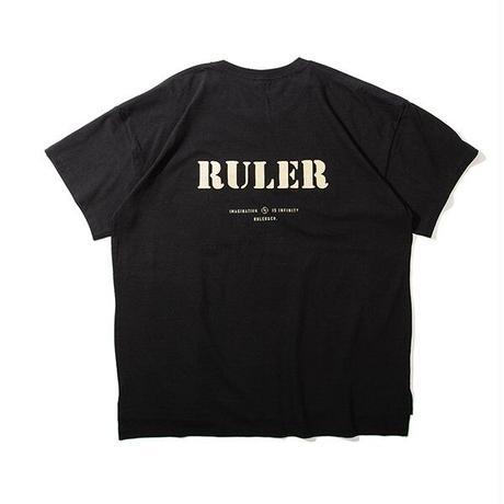 RULER / POCKET FAT TEE (2colors)