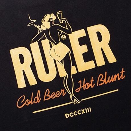 RULER / CBHB 3/4 Sleeve Fat Tee (2colors)