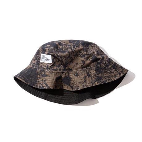 RULER / WAY OF LIFE REVERSIBLE BUCKET HAT (2colors)