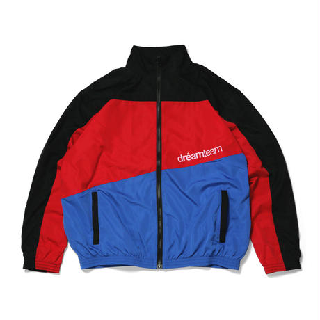 PANELED NYLON JACKET