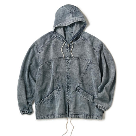 INTERBREED / Acid Washed Hood Jacket (2colors)