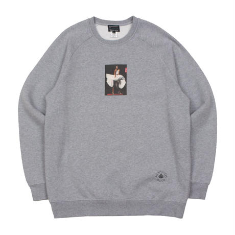 ACAPULCO GOLD / TRANS-LUX RAGLAN SLEEVE CREW SWEAT (2colors)