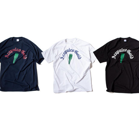 ACAPULCO GOLD / PARTY IS OVER TEE (3colos)