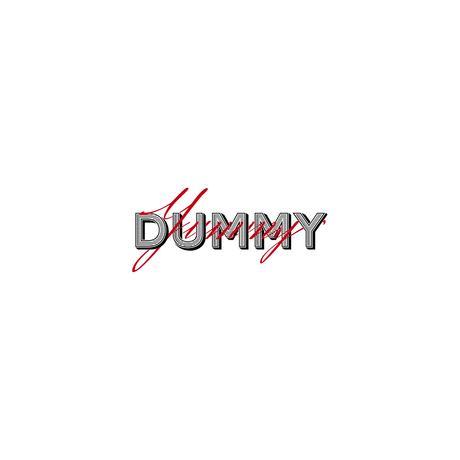 DUMMY YUMMY / Layer Font Mesh Cap
