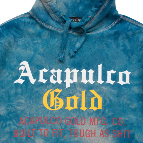 ACAPULCO GOLD / TIE DYED PULLOVER HOODIE (2colors)
