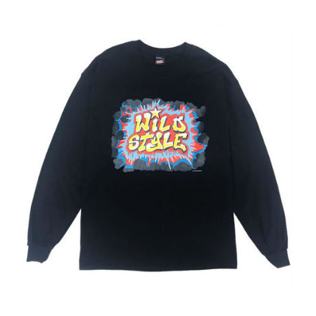 RAPTEES / WILD STYLE GRAFFITI LOGO LS TEE (2colors)