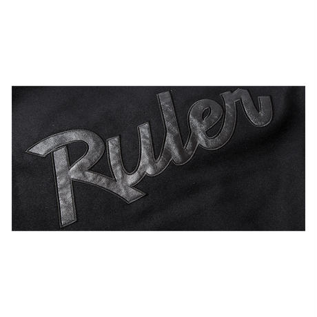 RULER/ BLACK VARSITY JACKET