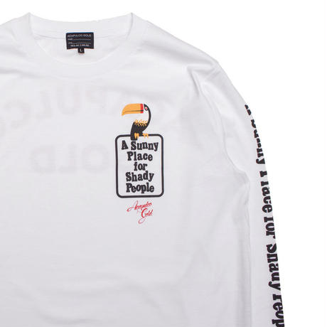 ACAPULCO GOLD/ TOUCAN LONG SLEEVE T-SHIRT