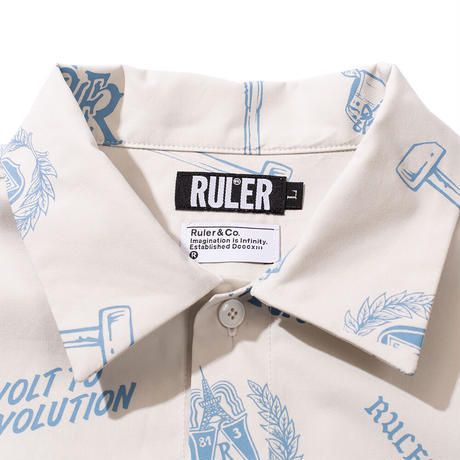 RULER / On To Victory Shirt (2colors)
