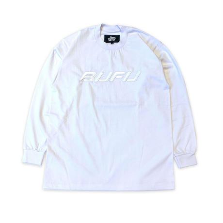 DUMMY YUMMY / BUFU WHITE LS T-SHIRTS