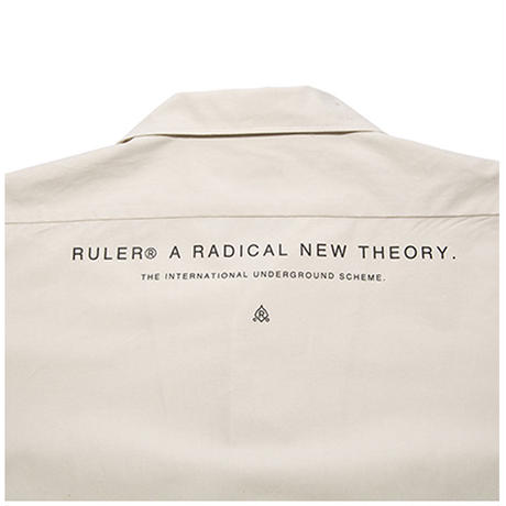 RULER / OPEN-COLLAR WORK SHIRTS