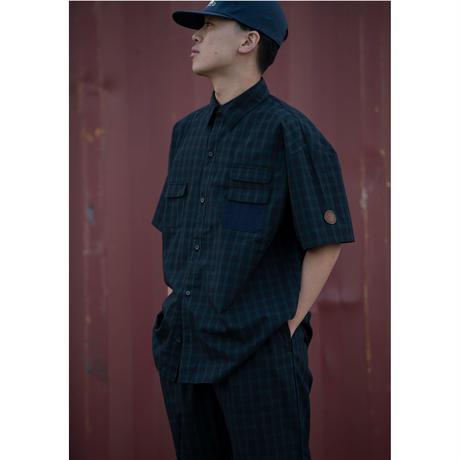 INTERBREED / Plaid Summer Shirt (2colors)