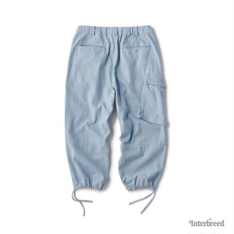 INTERBREED / INDIGO FARMER PANTS