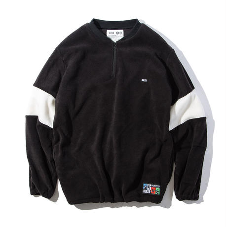 HALF-ZIP FLEECE SWEAT