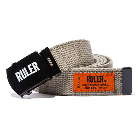 RULER / ID WEB BELT (3colors)
