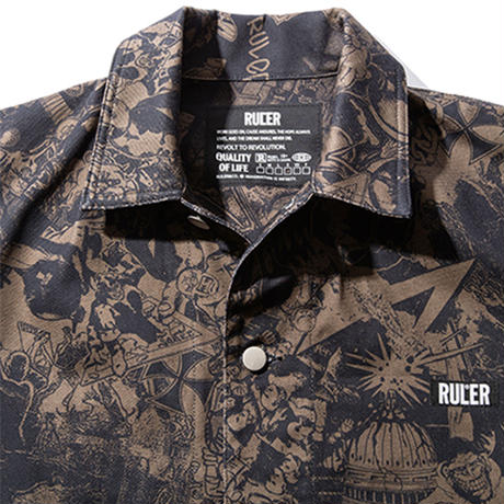 RULER / WAY OF LIFE COVERALL (2colors)