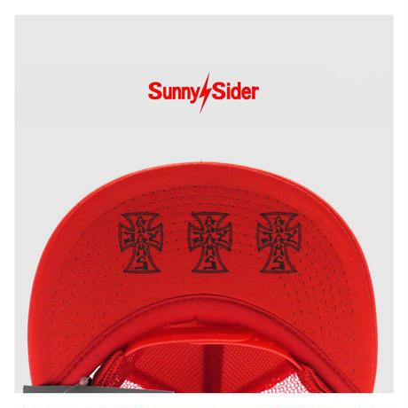 SUNNY C SIDER/ SUNNY JAY SS TRUCKER CAP (2colors)