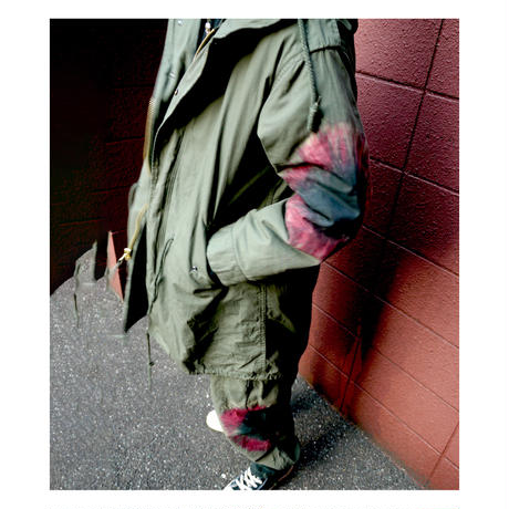 DUMMY YUMMY/ VINTAGE DYED M-65 FIELD PANTS