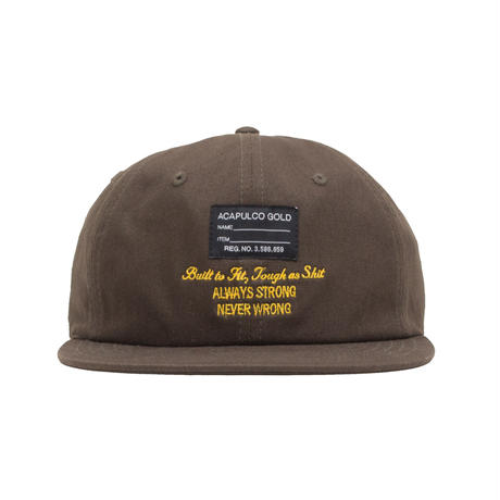 ACAPULCO GOLD / ENGINEER 6 PANEL CAP (4colors)