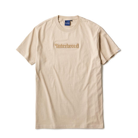 INTERBREED / Pile Patched Logo SS Tee (3colors)