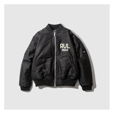 RULER/ SUBWAY STENCIL DECK JACKET (2.COLORS)