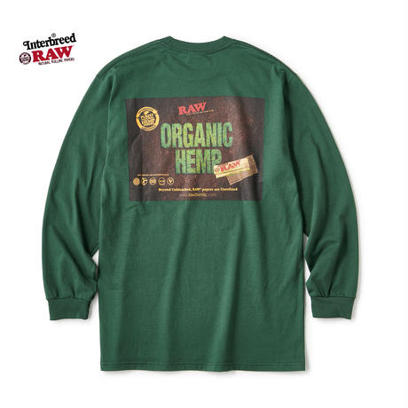 RAW×INTERBREED / RAW Organic LS Tee (2colors)
