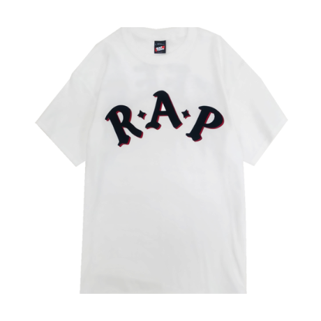 RAPTEES / R.A.P TEES LOGO PRINT S/S TEE (2colors)