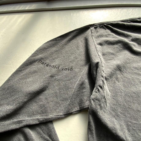 Long sleeve T-shirts  -or absence- black
