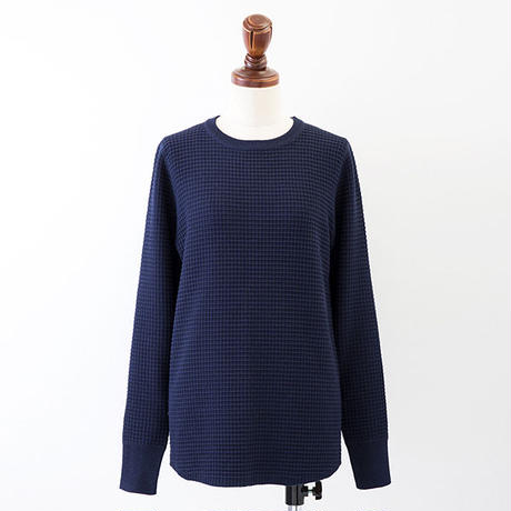 1604-07-103 WAFFLE KNIT PULLOVER