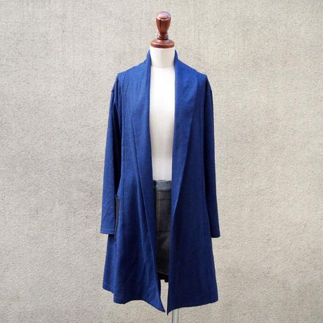 【SALE】1407-06-103 Wool Jersey Bi-Color Gown