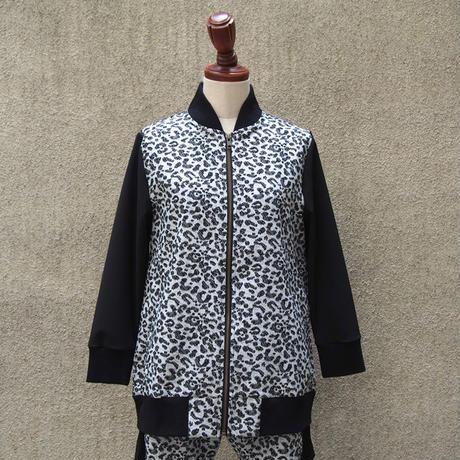 1310-02-102 Leopard Bi-Color Blouson