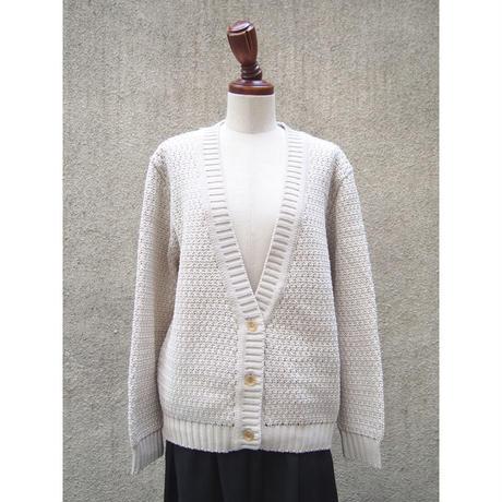1310-07-101 Low Gauge Wavy Knit Cardigan