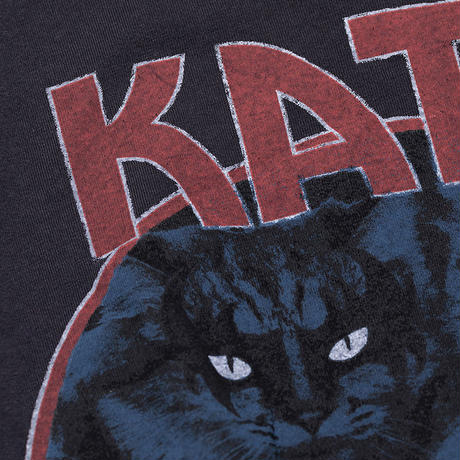 【再入荷】CA8AW-JE11 DISTRESSED KATE TEE - MEOW