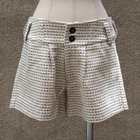1401-04-101 Summer Tweed Short Pants