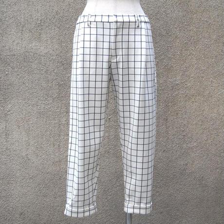 1401-04-102 Windowpane Check Pants
