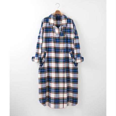 PA7AW-CT05 NEL CHECK WIDE GOWN
