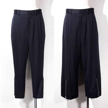 【SALE】1410-04-101 Side Zip Tapered/Wide Pants