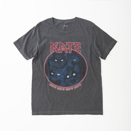 CA8SS-JE11 DISTRESSED KATE TEE - MEOW