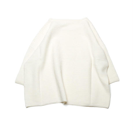 PAKT-01 WIDE PULLOVER - WAFFLE KNIT