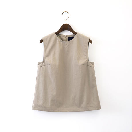 【SALE】1510-01-105 Square Armhole Top