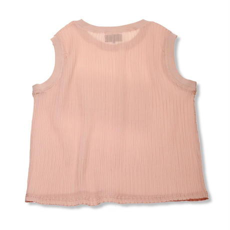 PA9SS-JE03 PLEATS GAUZE TOP